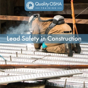 Lead Safety in Construction